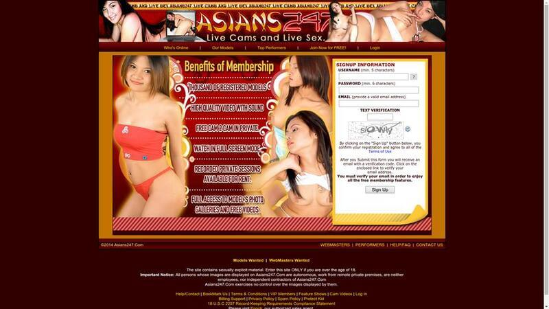 Registration at Asians247.com