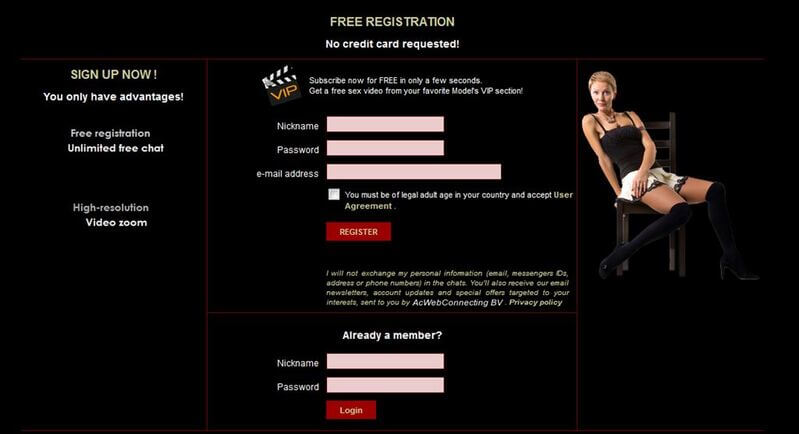 This is how you join XLoveMatures for free