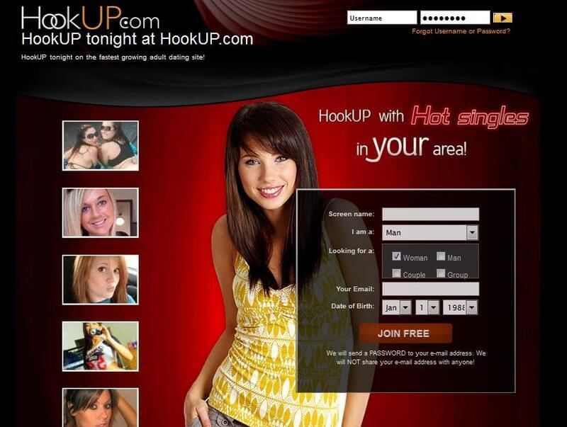 Sign up to Hookup